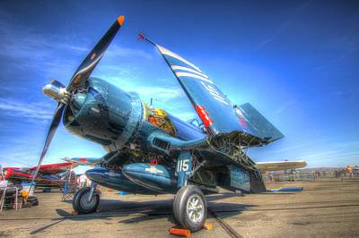 Photograph - Corsair Salute by John King