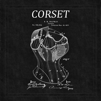Photograph - Corset Patent 2 by Andrew Fare