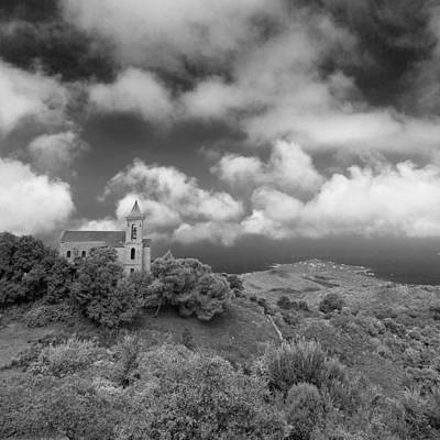 Photograph - Corsican Church by Brad Brizek