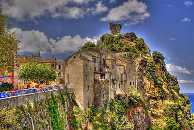 Photograph - Corsican Village by Rod Jones