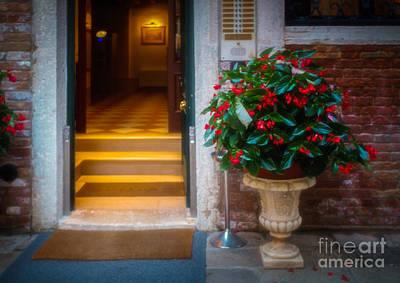 Venice Photograph - Corte Grimani by Craig Boudreaux