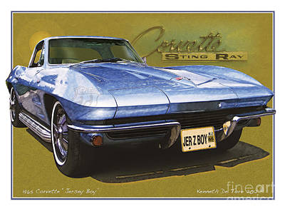 Photograph - Corvette 1965 by Kenneth De Tore