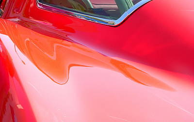 Photograph - Corvette Beautiful Art Lines by Jeff Lowe