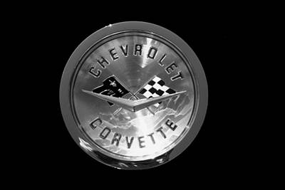 Photograph - Corvette Black by Morris  McClung