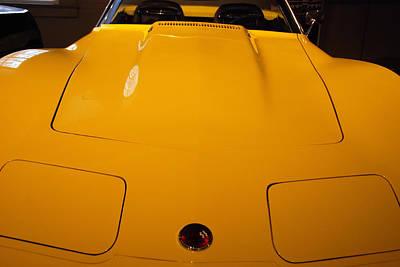 Photograph - Corvette By Chevrolet 1975 Stingray by John Schneider
