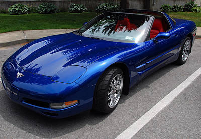 Photograph - Corvette By Chevrolet At Fifty by John Schneider