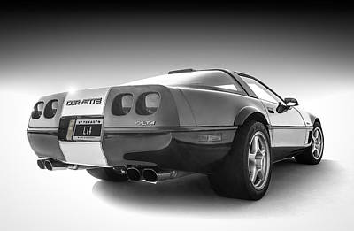 Corvette C4 Print by Douglas Pittman