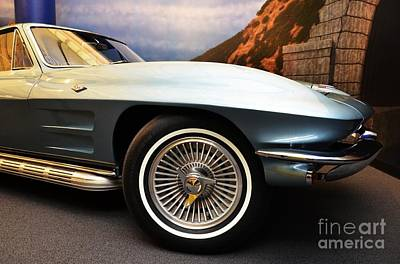 Photograph - Corvette Curves by Mel Steinhauer