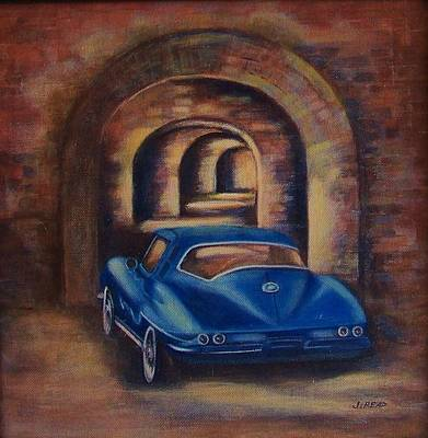 corvette Fort Mccomb Print by Jane Landry  Read