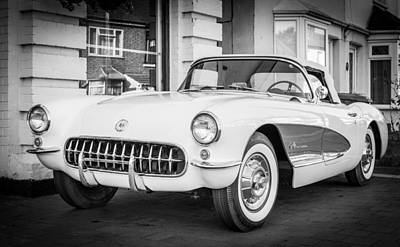 Photograph - Corvette by Gary Gillette