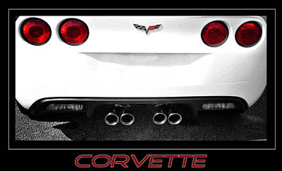 Photograph - Corvette Love by Davina Washington