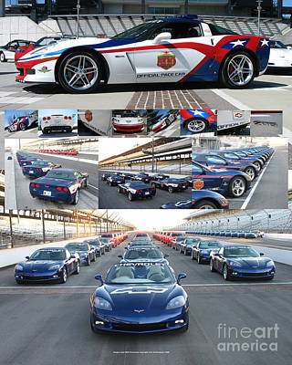 Corvette Pace Car Poster Original