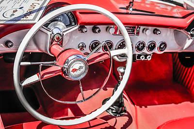 Corvette Red Leather Original