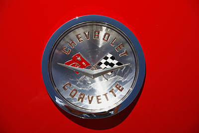 Photograph - Corvette Red by Morris  McClung