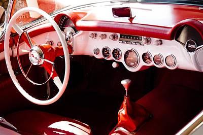 Photograph - Corvette by Robert L Jackson