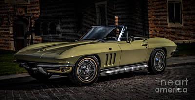 Photograph - Corvette by Ronald Grogan
