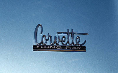 Photograph - Corvette Sting Ray by Morris  McClung
