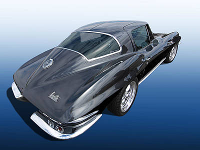 Muscle Cars Photograph - Corvette Stingray 1966 by Gill Billington