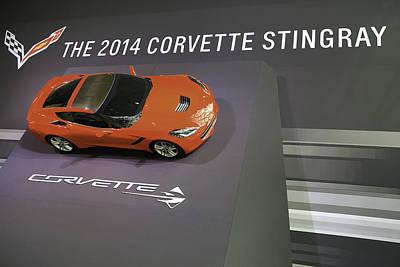 Corvette Stingray  Print by E Osmanoglu