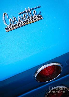 Photograph - Corvette Stingray by Mark Spearman