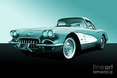 Photograph - Corvette Stingray by Nicholas Burningham