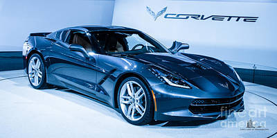 Photograph - Corvette Stingray by Ronald Grogan