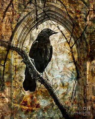 Judy Wood Digital Art - Corvid Arch by Judy Wood