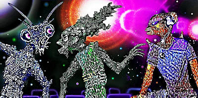 Galactic Mixed Media - Cosmic Conference by Hartmut Jager