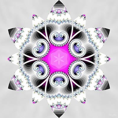 Digital Art - Cosmic Crown by Derek Gedney