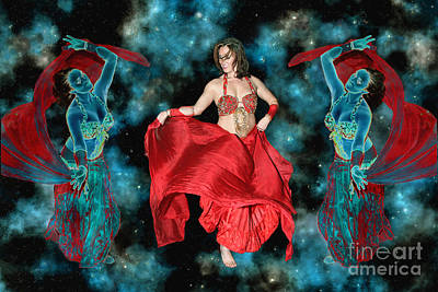 Digital Art - Cosmic Dance by Ursula Freer