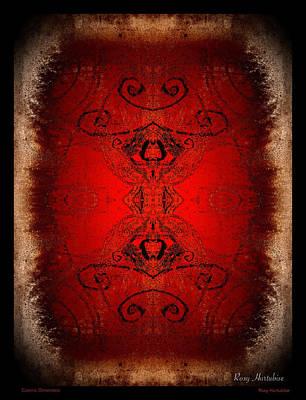 Digital Art - Cosmic Dimension by Roxy Hurtubise