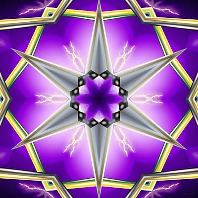 Digital Art - Cosmic Discharge by Derek Gedney