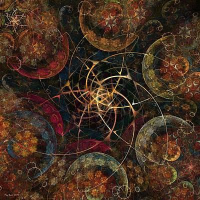 Kim Digital Art - Cosmic Energy by Kim Redd