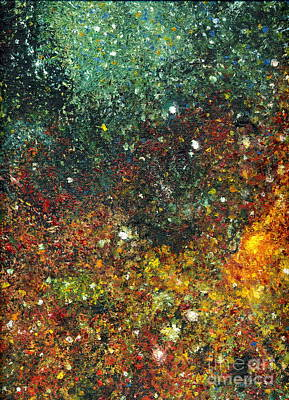 Painting - Cosmic Energy by Myra Maslowsky