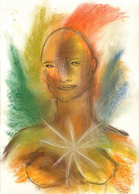 Painting - Cosmic Feminine by Roger Hanson