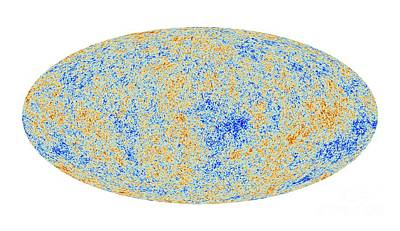 Cosmic Microwave Background, Planck Image Art Print by European Space Agency,the Planck Collaboration