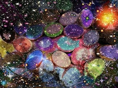 Cosmic Ovule Art Print