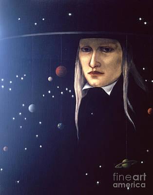 Cosmic Painting - Cosmic Pilgrim by Jane Whiting Chrzanoska