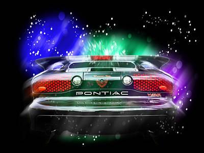 Photograph - Cosmic Pontiac Firebird by Gill Billington
