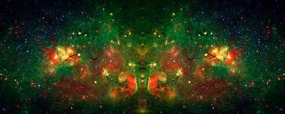 Cosmic Reflection 1 Art Print by Jennifer Rondinelli Reilly - Fine Art Photography