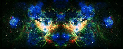 Cosmic Reflection 2 Art Print by Jennifer Rondinelli Reilly - Fine Art Photography