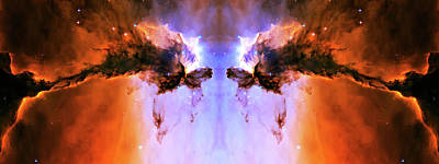 Cosmic Release Art Print by Jennifer Rondinelli Reilly - Fine Art Photography