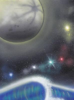 Wave Painting - Cosmic Wave by Christopher Soeters