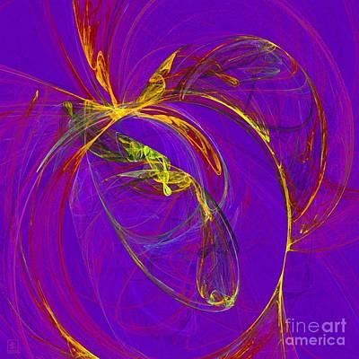 Artport Digital Art - Cosmic Web 4 by Jeanne Liander