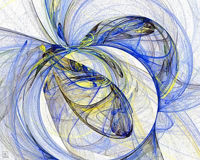 Cosmic Web 5 Art Print
