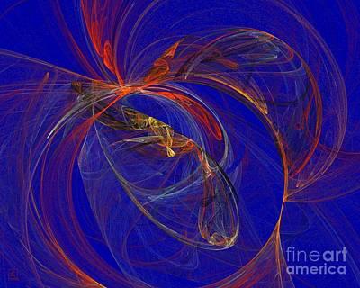 Artport Digital Art - Cosmic Web 7 by Jeanne Liander