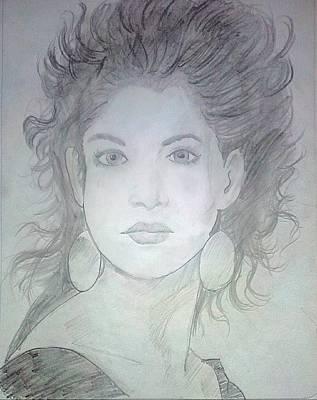 Cosmopolitan Drawing - Cosmopolitan Beauty by Yashhika Pilania
