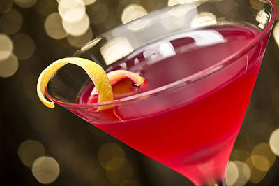 Martini Royalty-Free and Rights-Managed Images - Cosmopolitan Cocktail by U Schade