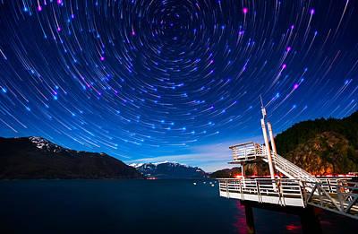 Comet Photograph - Cosmos by Alexis Birkill