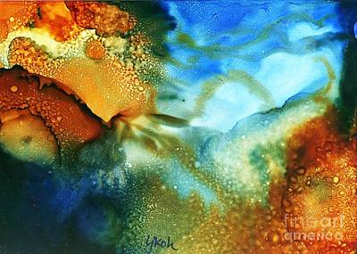 Painting - Cosmos I by Yolanda Koh